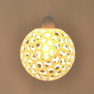 Voronoi Sphere pendant luminaire